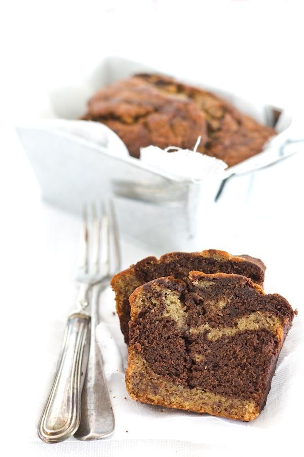 Chocolate and Banana Bread