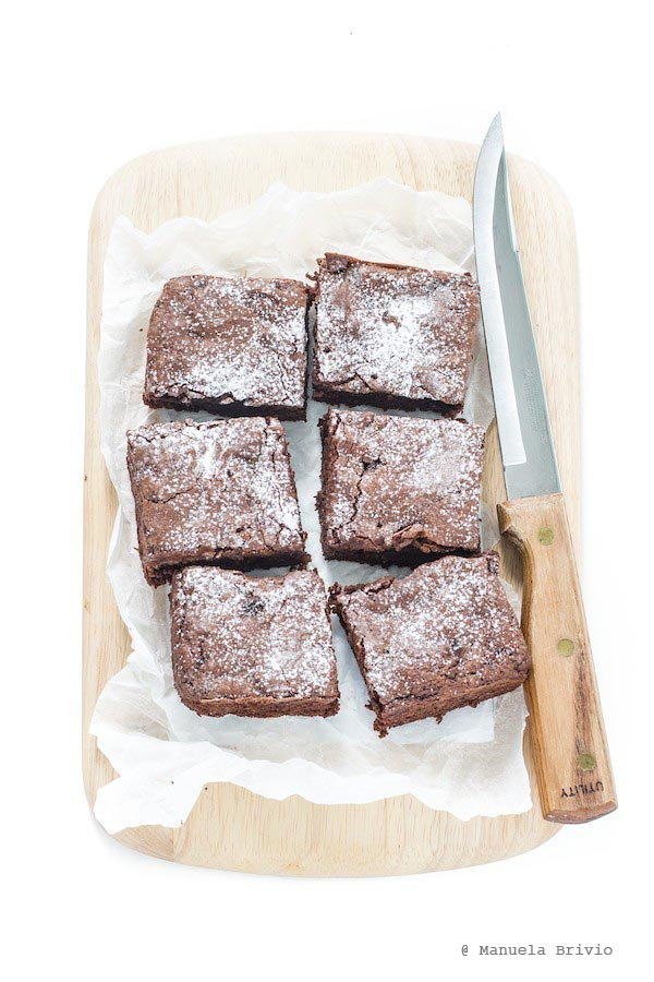 Brownie all'avocado