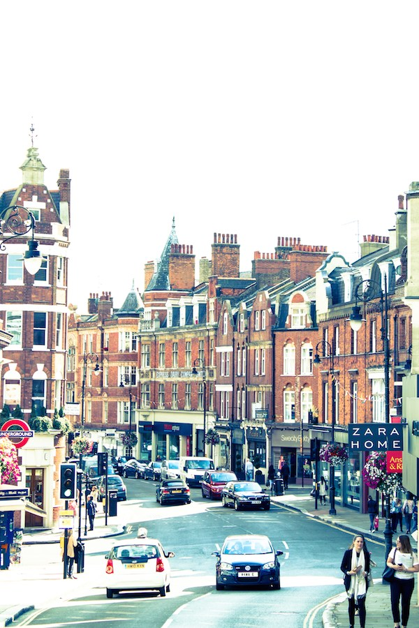 Hampstead High St, London